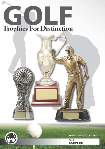 Golf Trophies Catalogue
