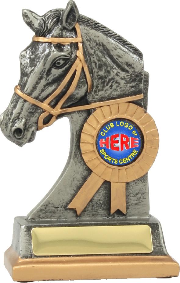 12135 Equestrian trophy 160mm