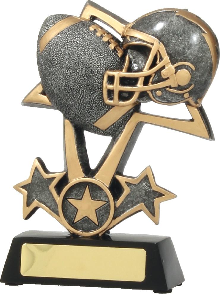 Gridiron Trophy 12455S 115mm