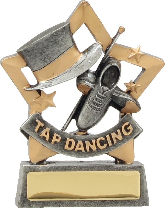 12909 Dance trophy 129mm