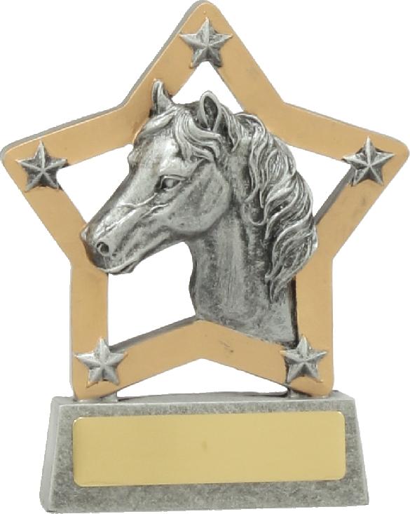 12935 Equestrian trophy 130mm