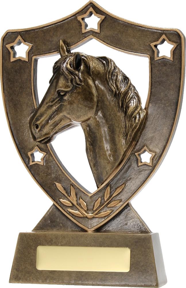 13535 Equestrian trophy 130mm
