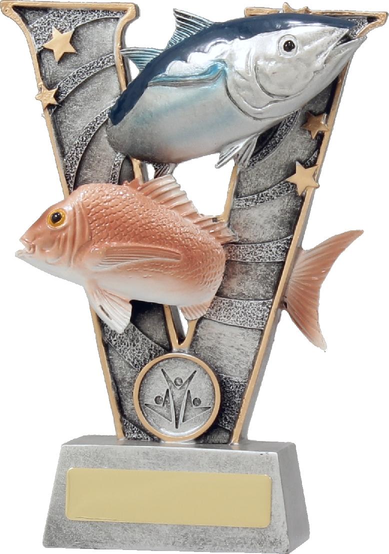 21403B Fishing trophy 185mm