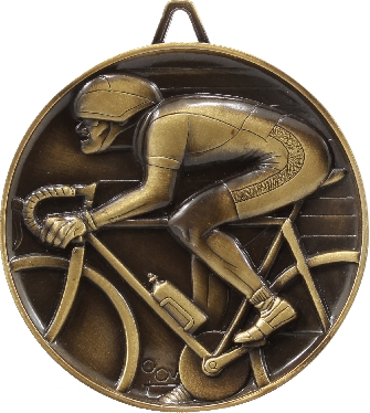 M9264 Cycling trophy 64mm