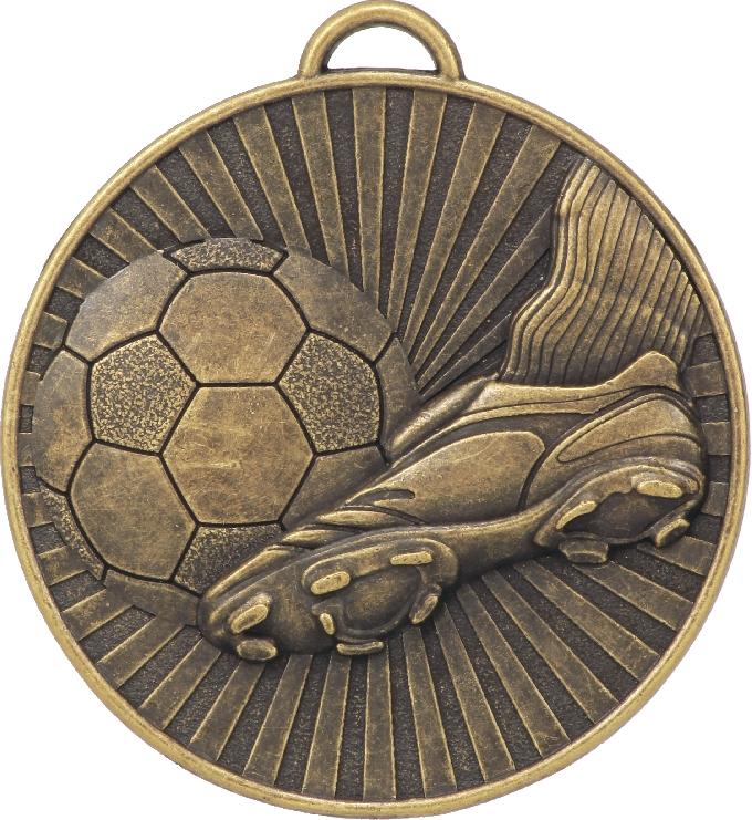 MD04G Soccer trophy 60mm
