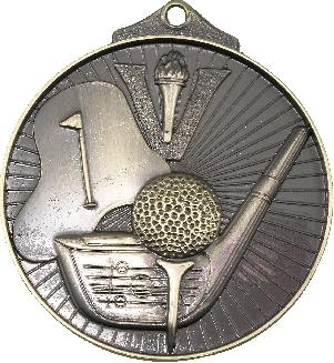 MD909 Golf trophy 52mm
