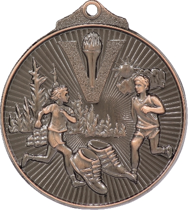 MD925B Athletics trophy 52mm