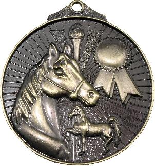 MD935 Equestrian trophy 52mm
