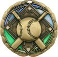 MS903G Baseball - Softball trophy 65mm