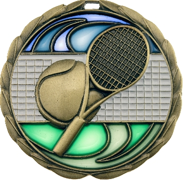 MS918G Tennis trophy 65mm