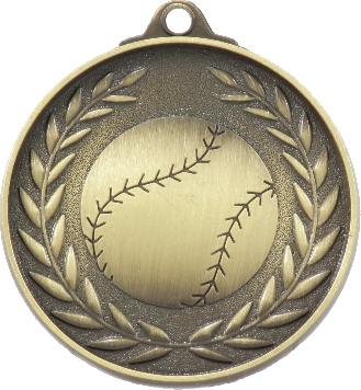 MX803G Baseball - Softball Medal 50mm New 2015