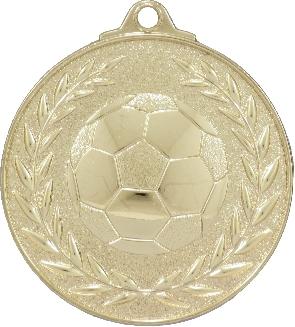 MX904 Soccer Medal 50mm New 2015