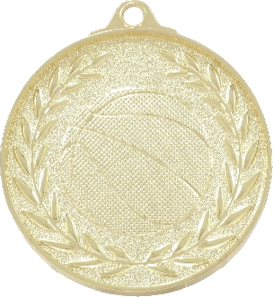 MX907 Basketball Medal 50mm New 2015