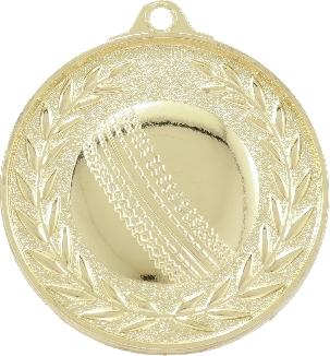 MX910 Cricket Medal 50mm New 2015