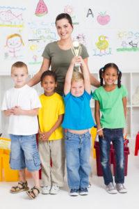 Children win academic awards