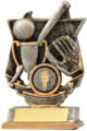 Baseball-Softball Trophy 12833S 110mm