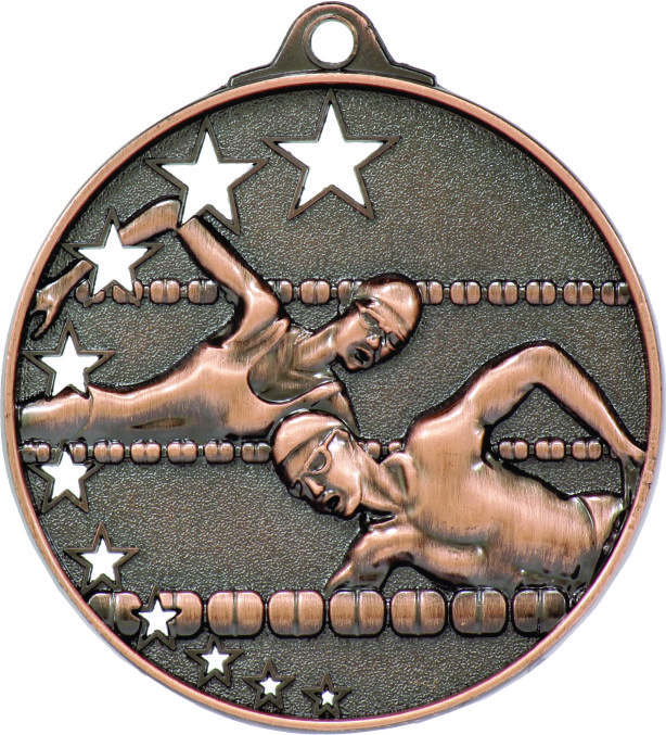 Swimming Medal MH902B 52mm