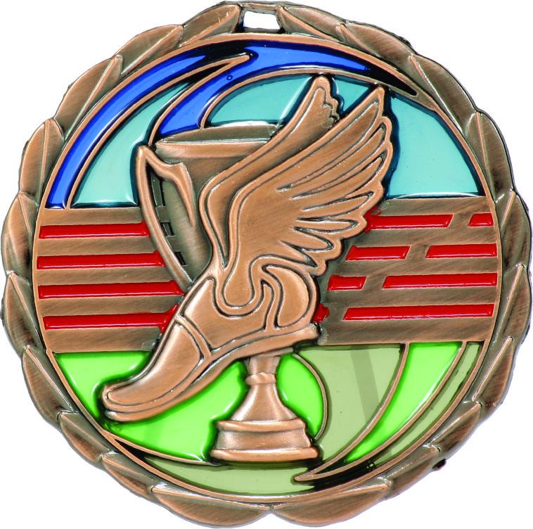 Athletics Medal MS901B 65mm
