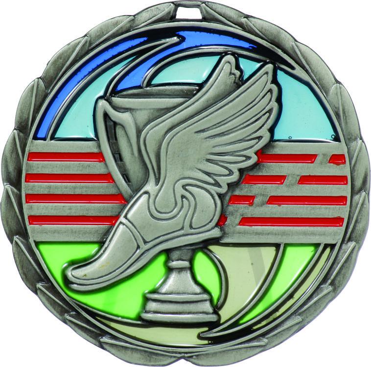 Athletics Medal MS901S 65mm