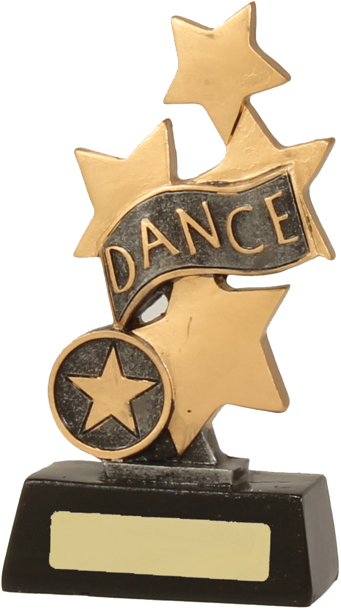 Dance Trophy 13019B 150mm