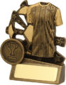 Soccer Trophy 13880S 90mm