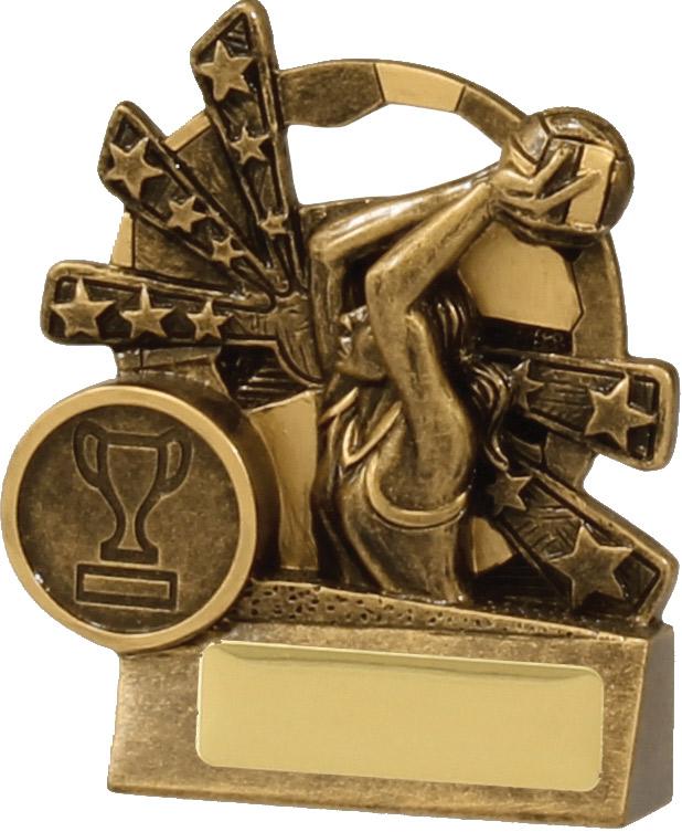 Netball Trophy 13891S 90mm