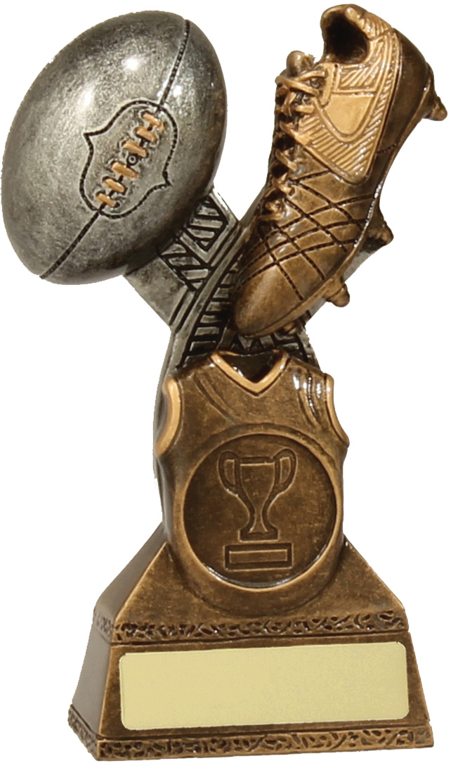 Australian Rules (AFL) Trophy 14231A 130mm