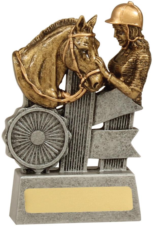 Equestrian Trophy A1809A 110mm