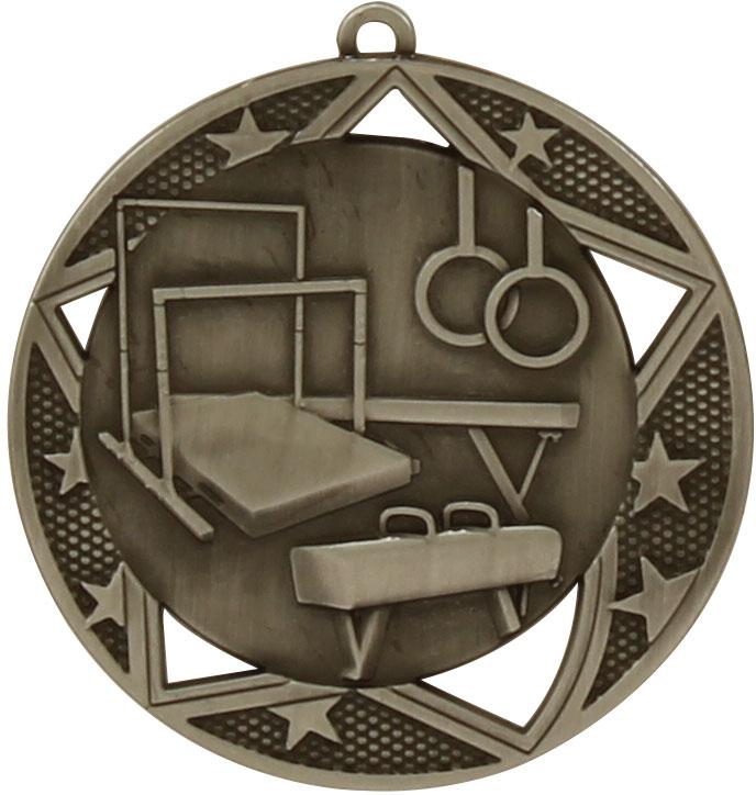 Gymnastics Medal MQ914S 70mm