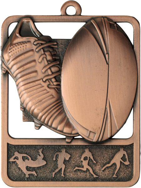 Rugby Medal MR913B 61mm