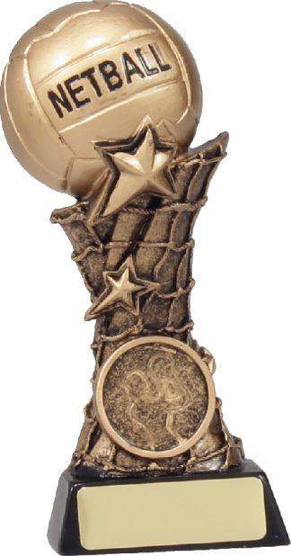 11037B Netball trophy 145mm