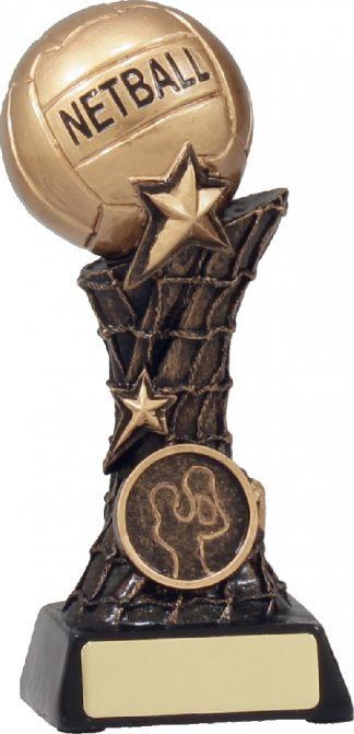 11037C Netball trophy 165mm