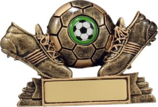 11038 Soccer trophy 90mm