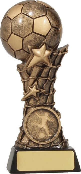 11080B Soccer trophy 140mm