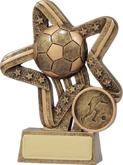 11380A Soccer Trophy 110mm New 2015