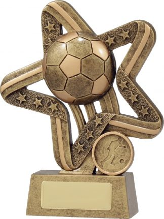 11380C Soccer Trophy 155mm New 2015