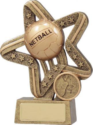 11391B Netball Trophy 135mm New 2015