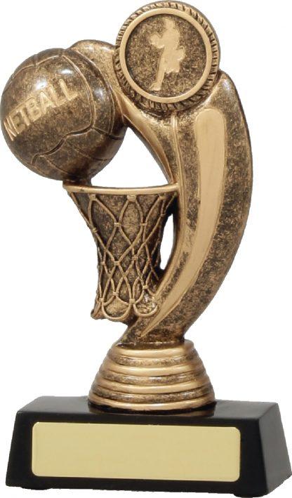 11437L Netball trophy 160mm