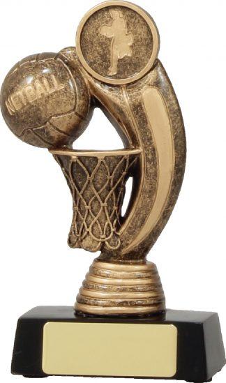 11437M Netball trophy 140mm