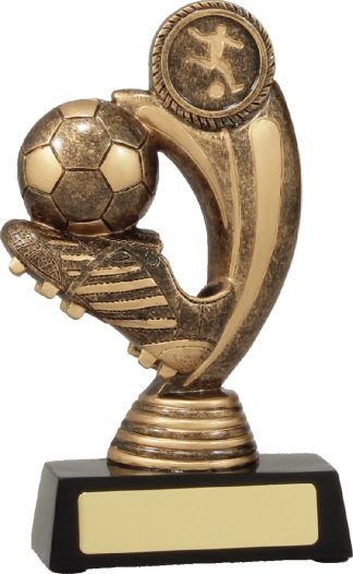 11438L Soccer trophy 160mm