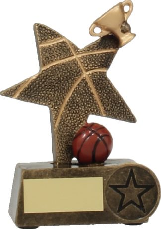 11534S Basketball trophy 115mm