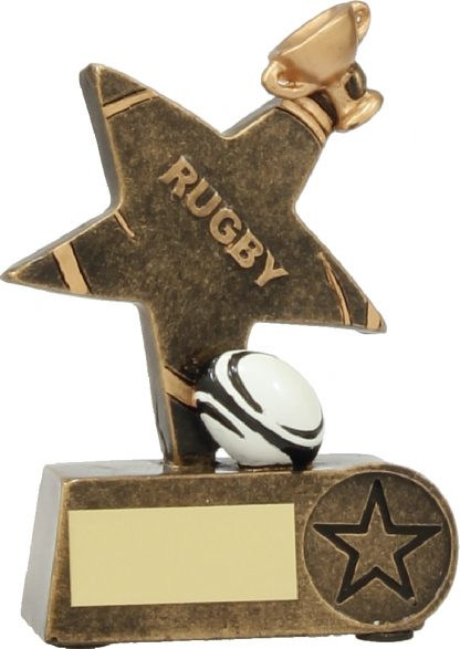 11539M Rugby trophy 130mm