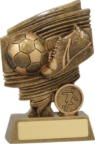 11604B Soccer trophy 135mm