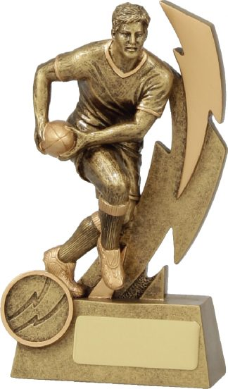 11613A Rugby trophy 150mm