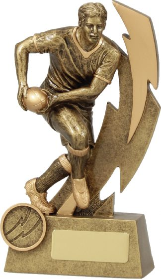 11613B Rugby trophy 175mm