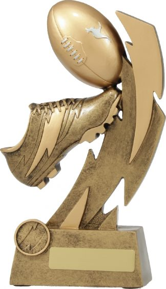 11631E Touch Football trophy 240mm