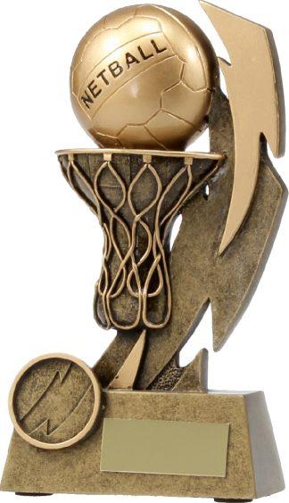 11637B Netball trophy 155mm