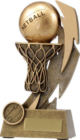11637C Netball trophy 180mm