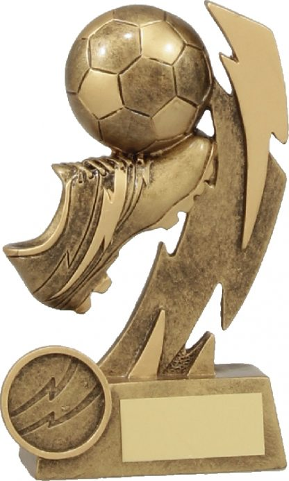 11638A Soccer trophy 130mm