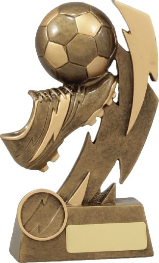 11638B Soccer trophy 155mm